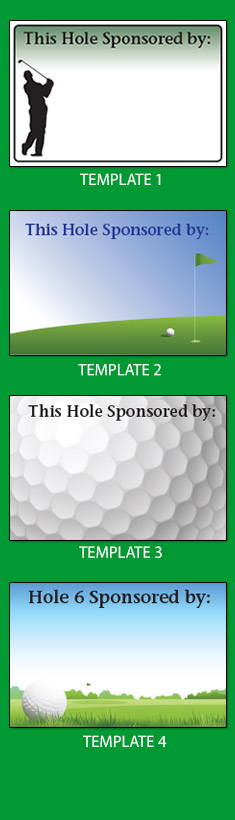 This Hole Sponsored by